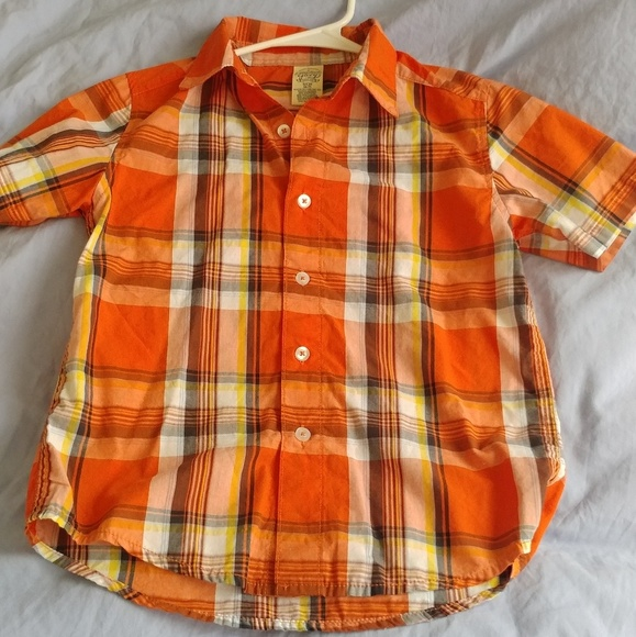 12972d6d Shirts & Tops | Faded Glory Boys Button Up Shirt Size Small | Poshmark